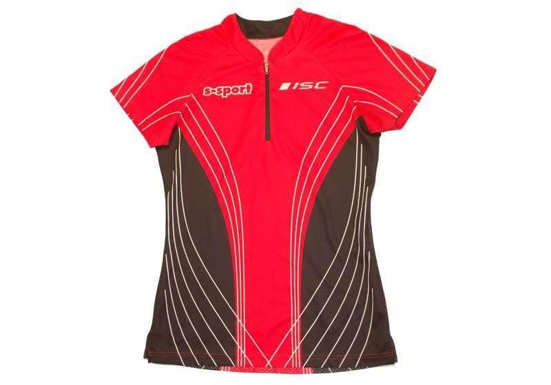 ISC Forest O-Shirt sublimiert <br/> Rücken mit Netzeinsatz
