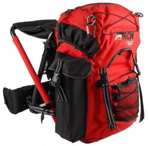 OL-Tech 1040 Rucksack mit Sitz 40 Liter – div. Farben