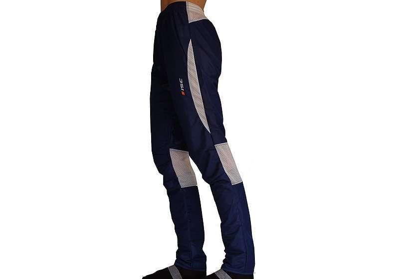 ISC Racer OL Hose lang blau/weiss