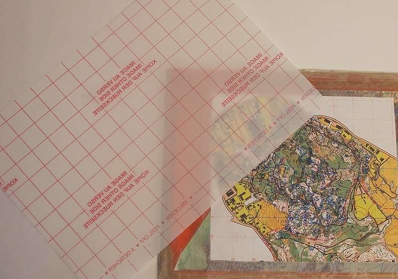 Folie für Kartenaufnahme