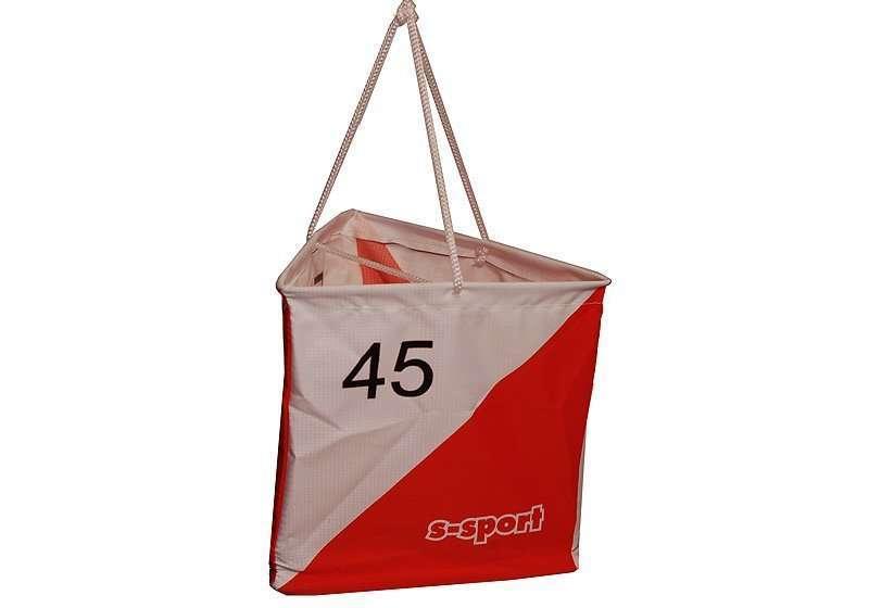 OL Postenflagge 15/15 cm <br/> mit individueller Nummer