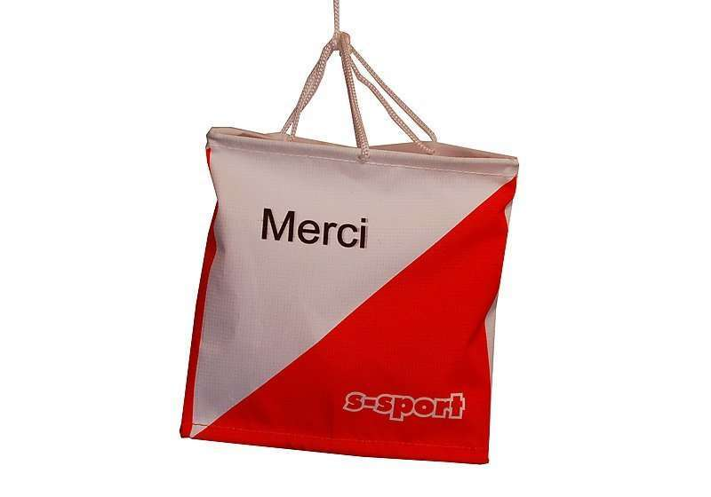 OL Postenflagge 15/15 cm <br/> Danke Merci Grazie