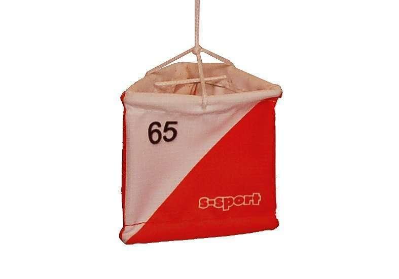 OL Postenflagge 6/6 cm <br/> mit individueller Nummer