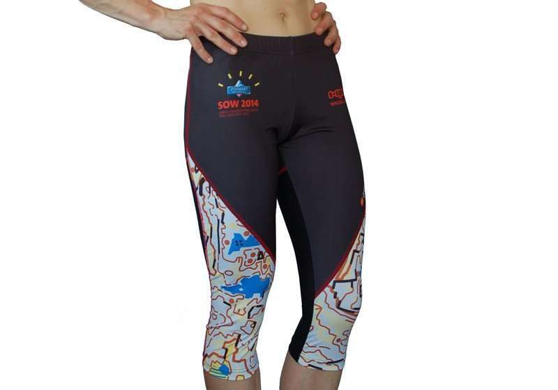 ISC Running Tights sublimiert
